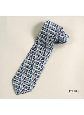 """""""Designer Dreidels"""" Silk Chanukah Tie"""