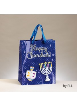 Medium Embellished Chanukah Gift Bag