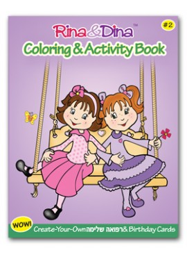 Rina and Dina Coloring Book